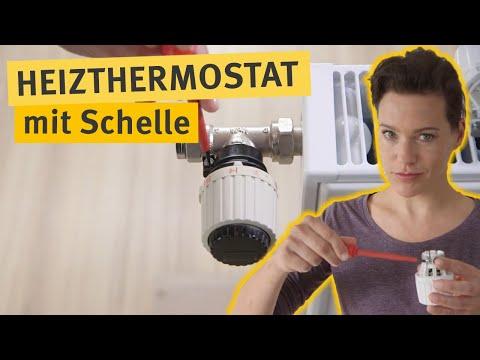 Do-it-yourself: Thermostat mit Schelle tauschen