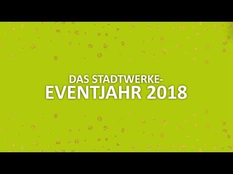 Stadtwerke-Veranstaltungsjahr 2018