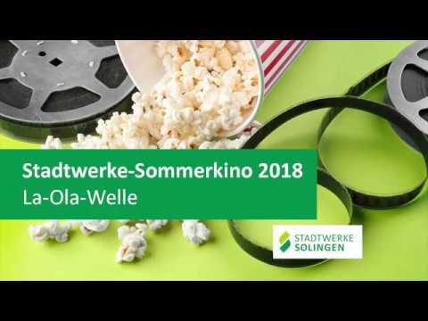 Stadtwerke-Sommerkino 2018: La-Ola-Welle