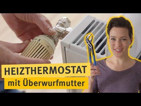 Do-it-yourself: Thermostat mit Überwurfmutter tauschen
