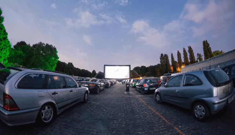 Stadtwerke Autokino - Erster Abend