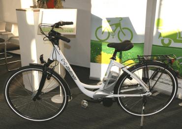 E-Bike der Stadtwerke Solingen