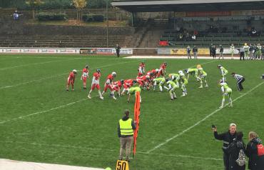 AFC Solingen Paladins - Spielszene 2017