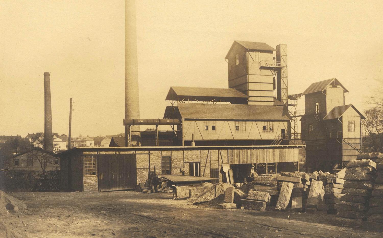Gaswerk Ohligs an der Tunnelstraße 1926, Quelle: Stadtarchiv Solingen