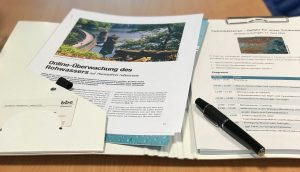 Cyanobakterien - Seminarunterlagen im Wasserwerk Glüder