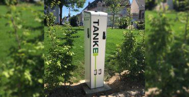 Ladesäule der Stadtwerke Solingen (TankE-Netzwerk)