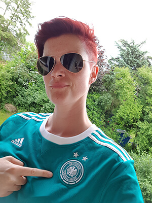 Lisa Nohl im Deutschland-Trikot