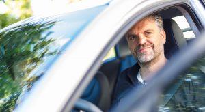 E-Auto-Alltagstest: Ulrich Waasem im Hyundai IONIQ electric