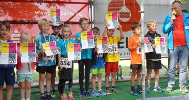 Sengbach-Talsperrenlauf 2018: Kindersiegerehrung