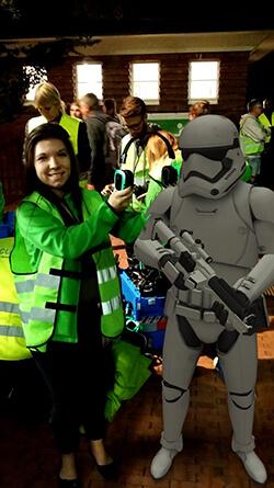 Star Wars-Krieger im Sommerkino Solingen
