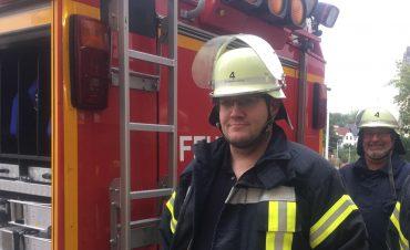 Freiwillige Feuerwehr Solingen - Dirk Benstein und Dirk Bendig