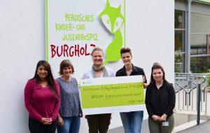 Kinderhospiz Burgholz - Spendenübergabe Stadtwerke Solingen
