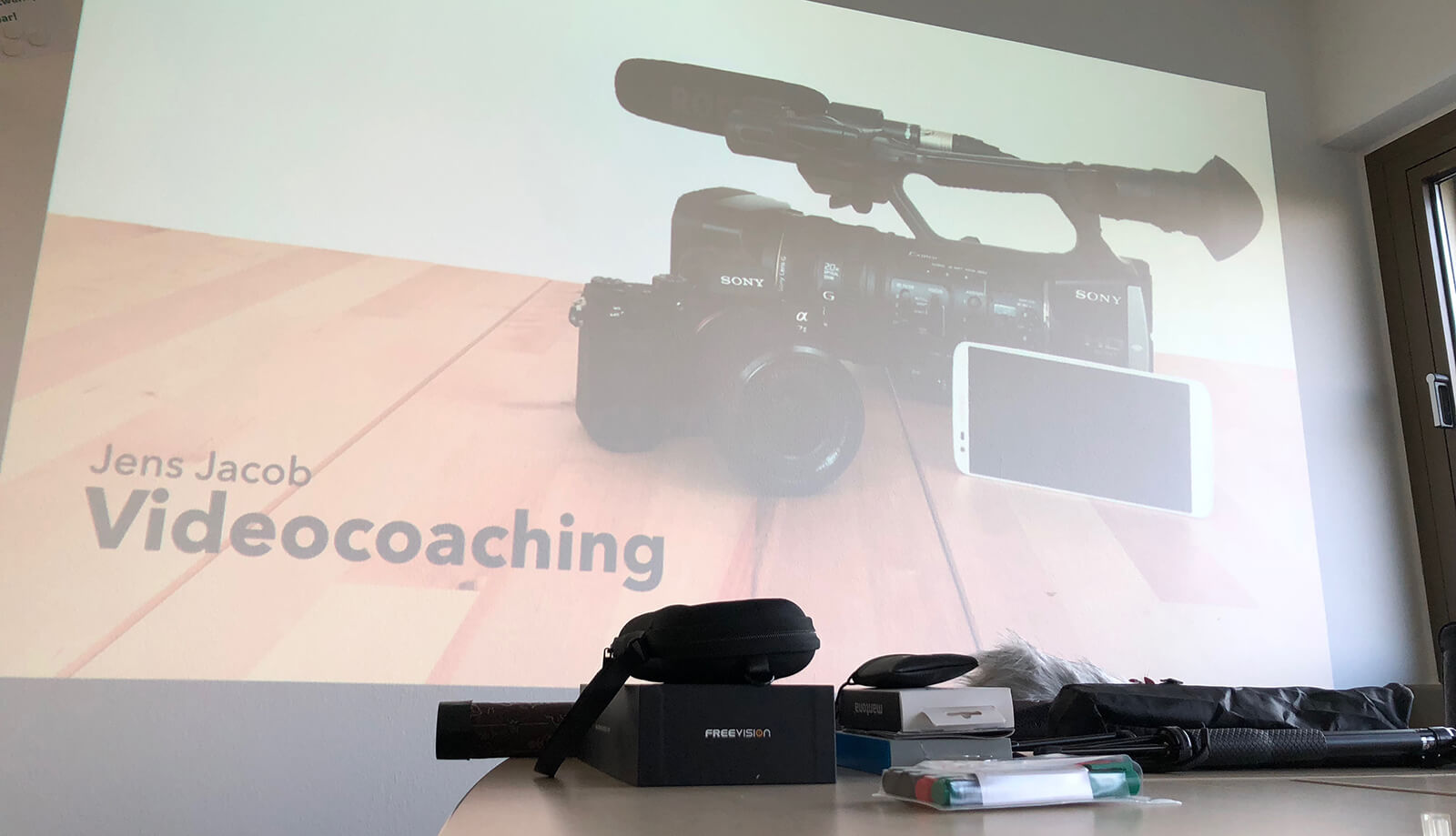 Video-Workshop mit Videocoach Jens Jacob