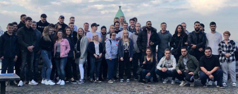 Azubifahrt 2018 Hamburg Gruppenbild