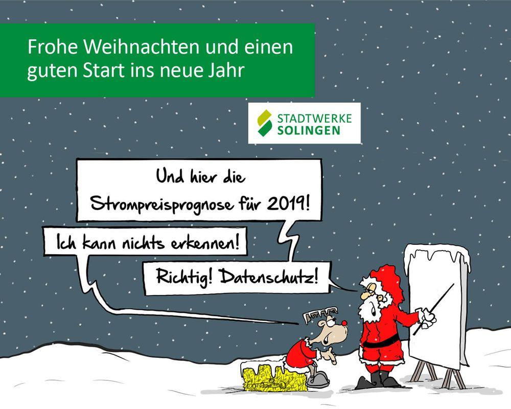 Comic zum Datenschutz der Stadtwerke Solingen