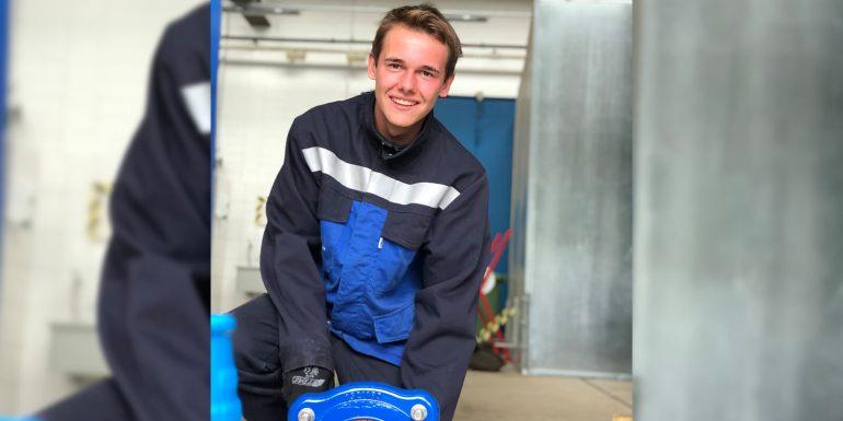 Justin Alex - Anlagenmechaniker-Azubi bei den Stadtwerken SolingenJustin Alex - Anlagenmechaniker-Azubi bei den Stadtwerken Solingen