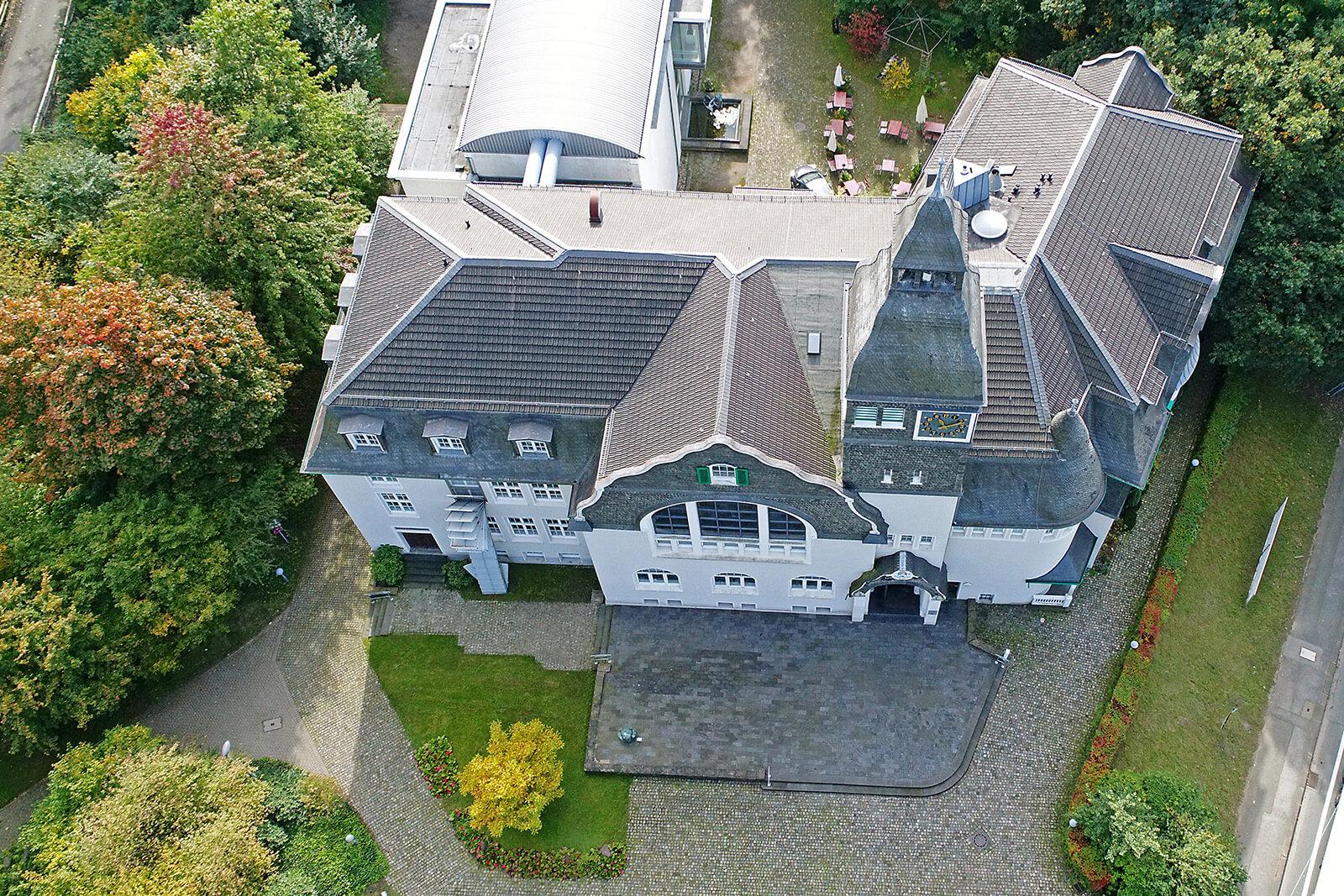 Kunstmuseum Solingen (Luftaufnahme Christian Beier)