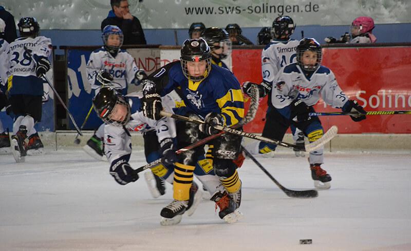 EC Bergisch Land - Spieler in Aktion