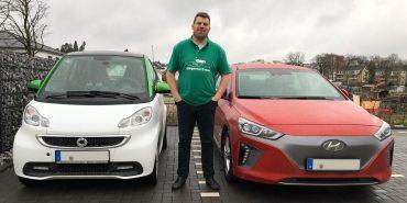 Vergleich Elektroauto und Verbrenner