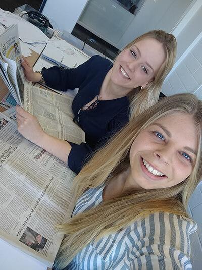 Jenny und Hannah