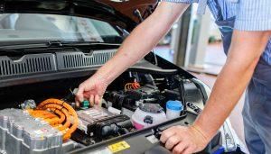 E-Auto (VW) - Wartung