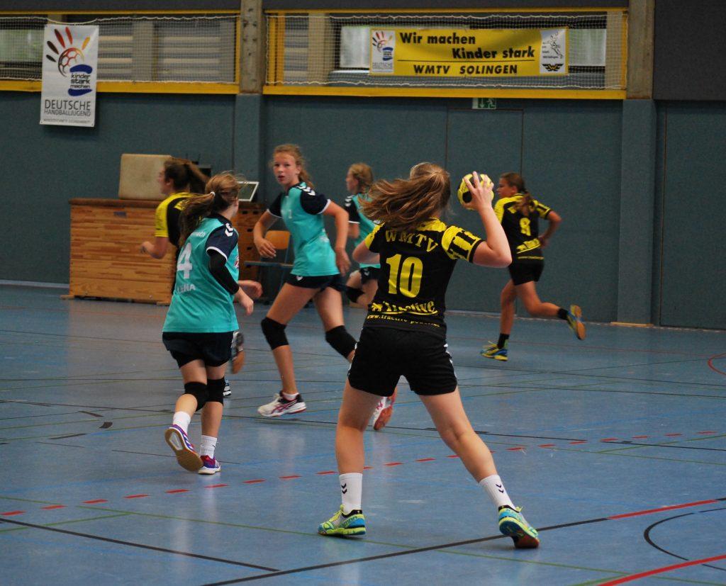 WMTV Molitorcup Mädchanhandballmannschaft