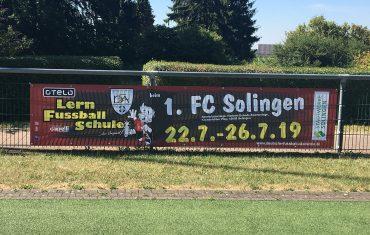 Lern-Fußballschule vom 1. FC Solingen
