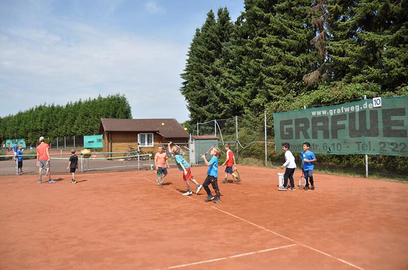 Tenniscamp 2019 vom Solinger Tennisclub