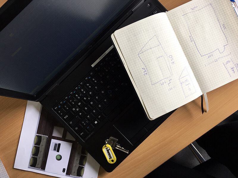Bauwagen: Kalkulation