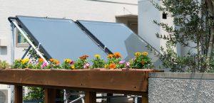 Mini-Solaranlage