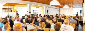 Podiumsdiskussion zur E-Mobilität bei den Stadtwerken Ssolingen (Sep. 2019)
