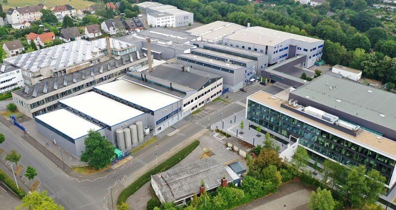 BIA - Standort Solingen (Luftbild)