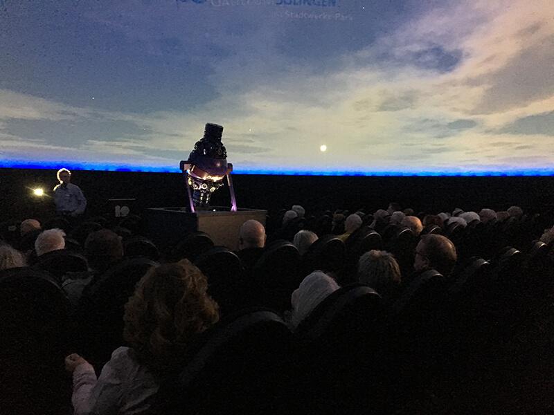 Galileum Solingen - Vortrag im Planetarium
