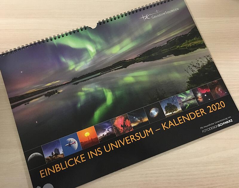 Kalender 2020 vom Galileum Solingen