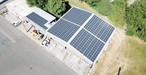 Verkehrsbetrieb Solingen - Werkstatthalle (Luftbild)