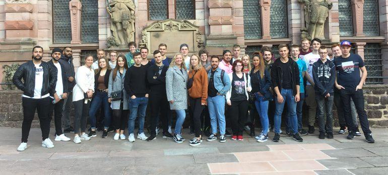 Azubifahrt 2019 nach Heidelberg