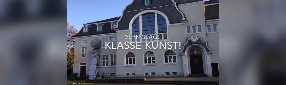 """Vernissage """"Klasse Kunst"""" im Kunstmuseum Solingen 2019"""