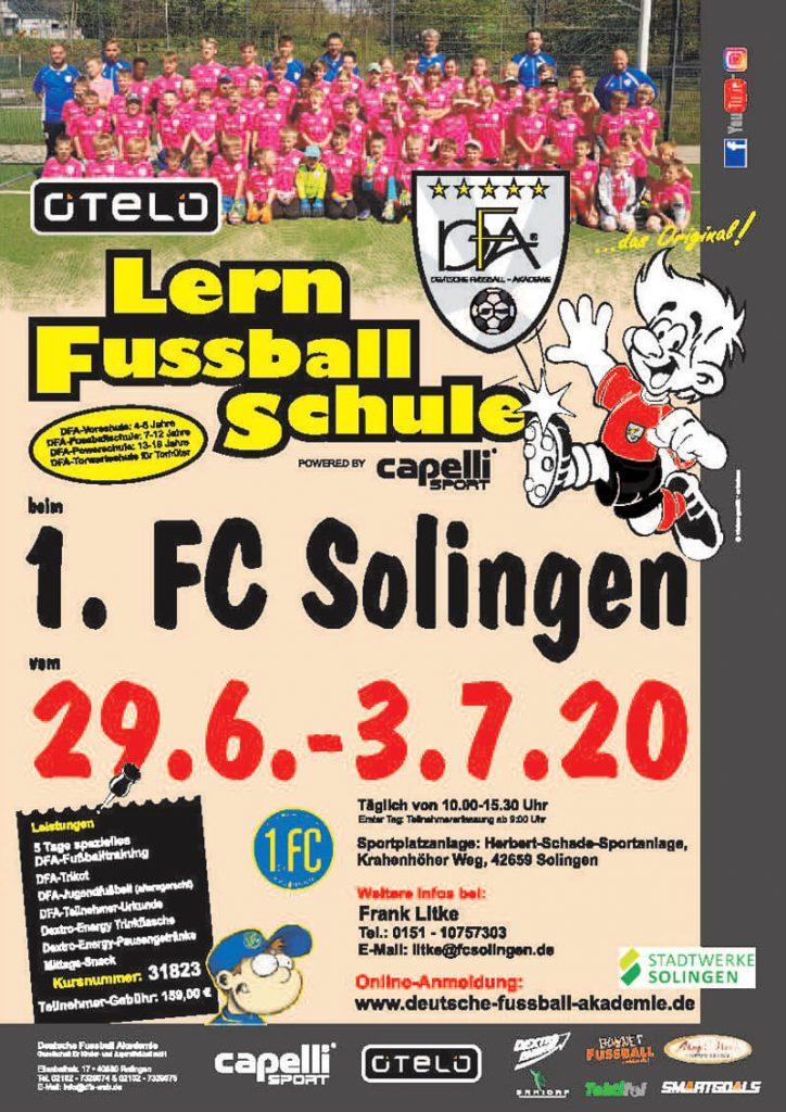 poster-1. FCSolingen Lern Fußballschule