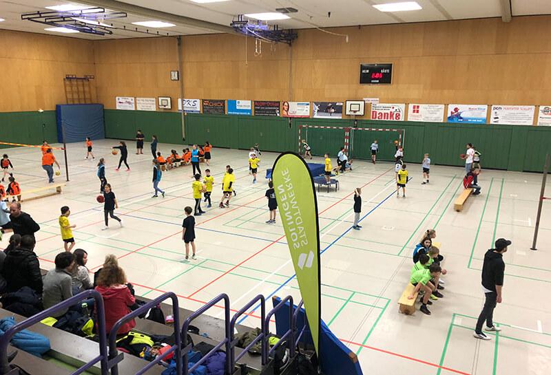 Faustball Stadtmeisterschaft Solingen 2020 - OTV-Halle am Schützenplatz