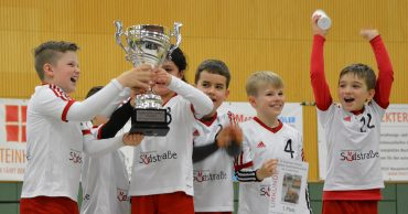 Faustball Stadtmeisterschaft Solingen 2020 - Sieger Grundschule Südstraße (Gruppenfoto)