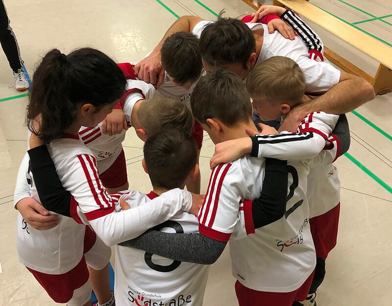 Faustball Stadtmeisterschaft Solingen 2020 - Sieger Grundschule Südstraße
