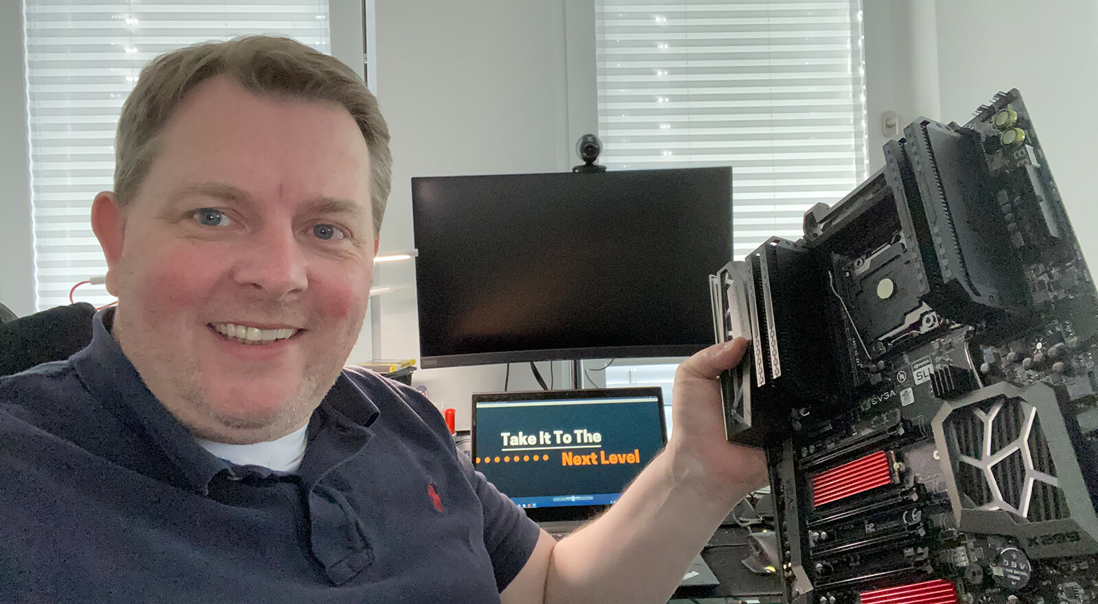 Selfie Marc Nunkesser im Homeoffice
