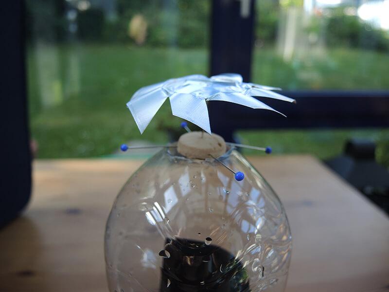 Energie-Experiment - Sonnenenergieturbine