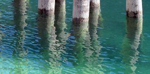 Venedig - Klares Wasser in der Lagune