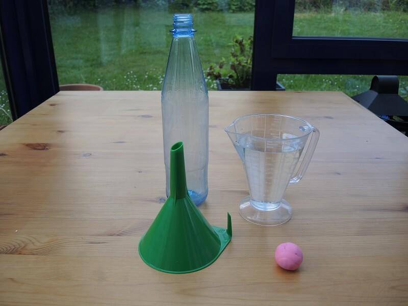 Wasser-Experiment - Flaschengeist