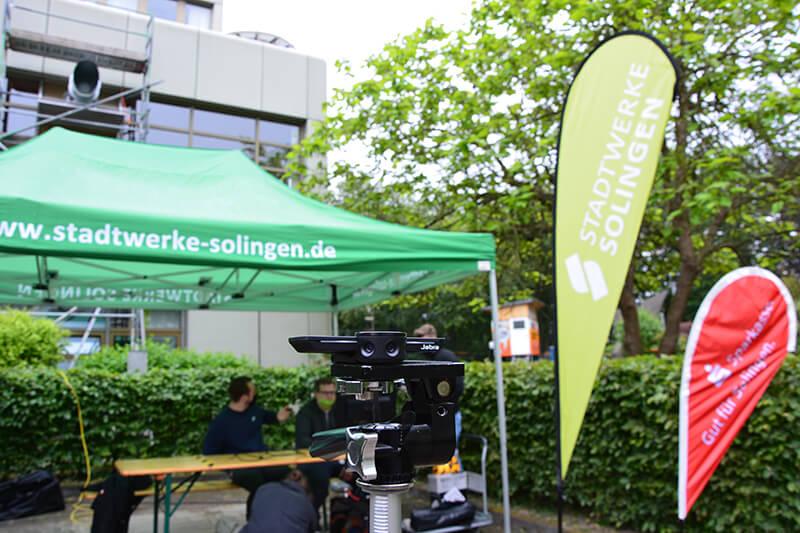Fenstertheater (Stadtwerke Solingen) - Kamera für Live-Stream