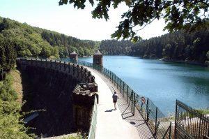 Sengbachtalsperre Staumauer