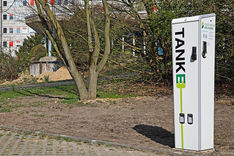 TankE-Ladesäule in der Bonner Straße 100, 42697 Solingen (Säule 2)