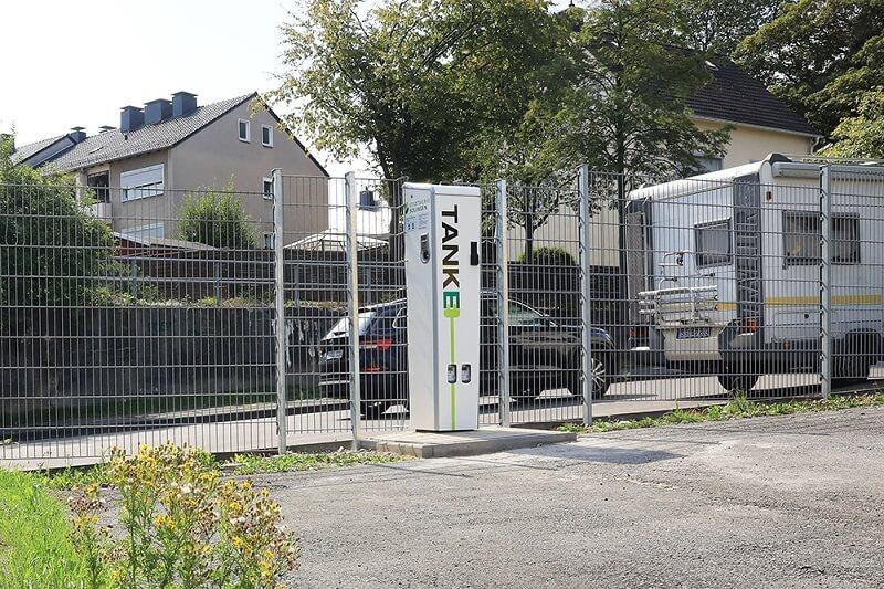 TankE-Ladesäule in der Dültgenstaler Strasse 65z, 42719 Solingen