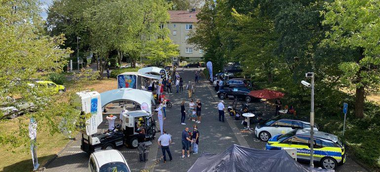 Elektromobilitätstag 2020 bei den Stadtwerken Solingen